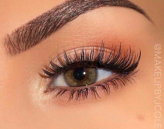 Green Eyes Eyelash Extensions Eyes Beauty Makeup