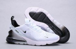 Nike Air Max 270 White Black Spectrum AH8050 101 Men's Women