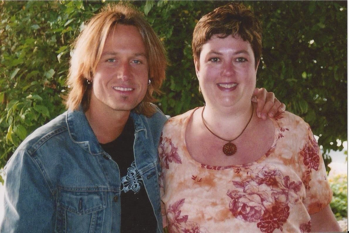 My meet and greet when he opened between deanna carter and kenny keith urban my meet and greet when he opened between deanna carter and kenny chesney in indianapolis m4hsunfo