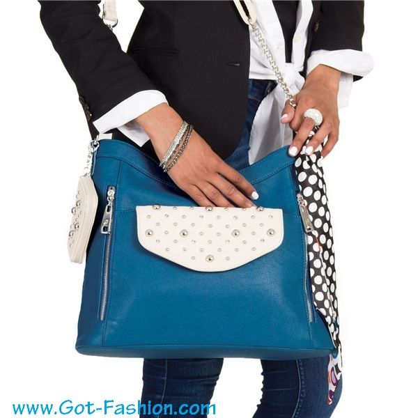 Grace Adele - Ocean Giselle Bag Chain Cross-Body Strap Stone Card Case Stone-Britt Clutch Bag Scarf Mix & Match your style today! www.Got-Fashion.com #GraceAdele #Purses #Bags #Jewelry #Fashion #StyleMe