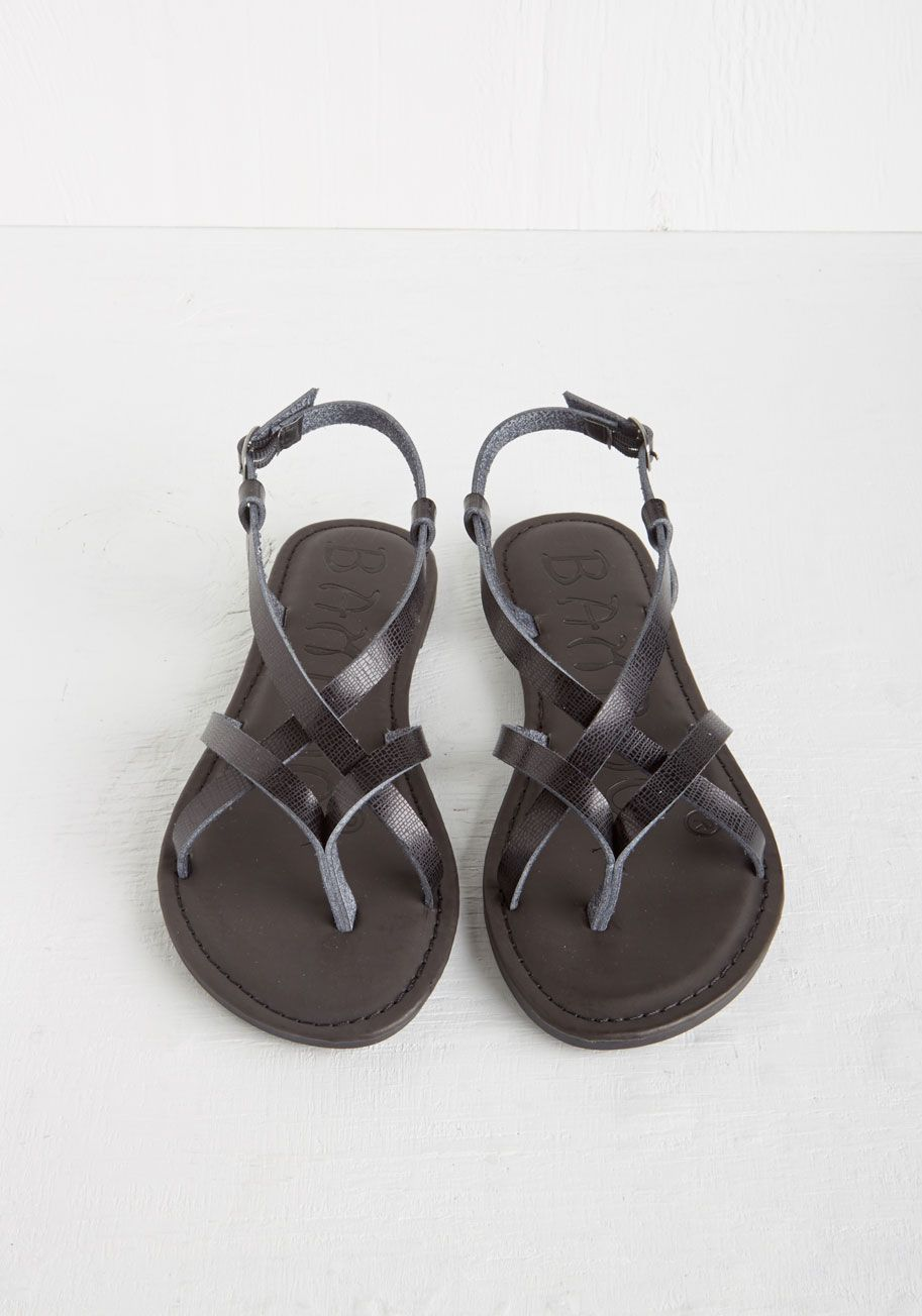 c0595f5f5 Slingback to the Beach Sandal in Black. After spending your morning inland