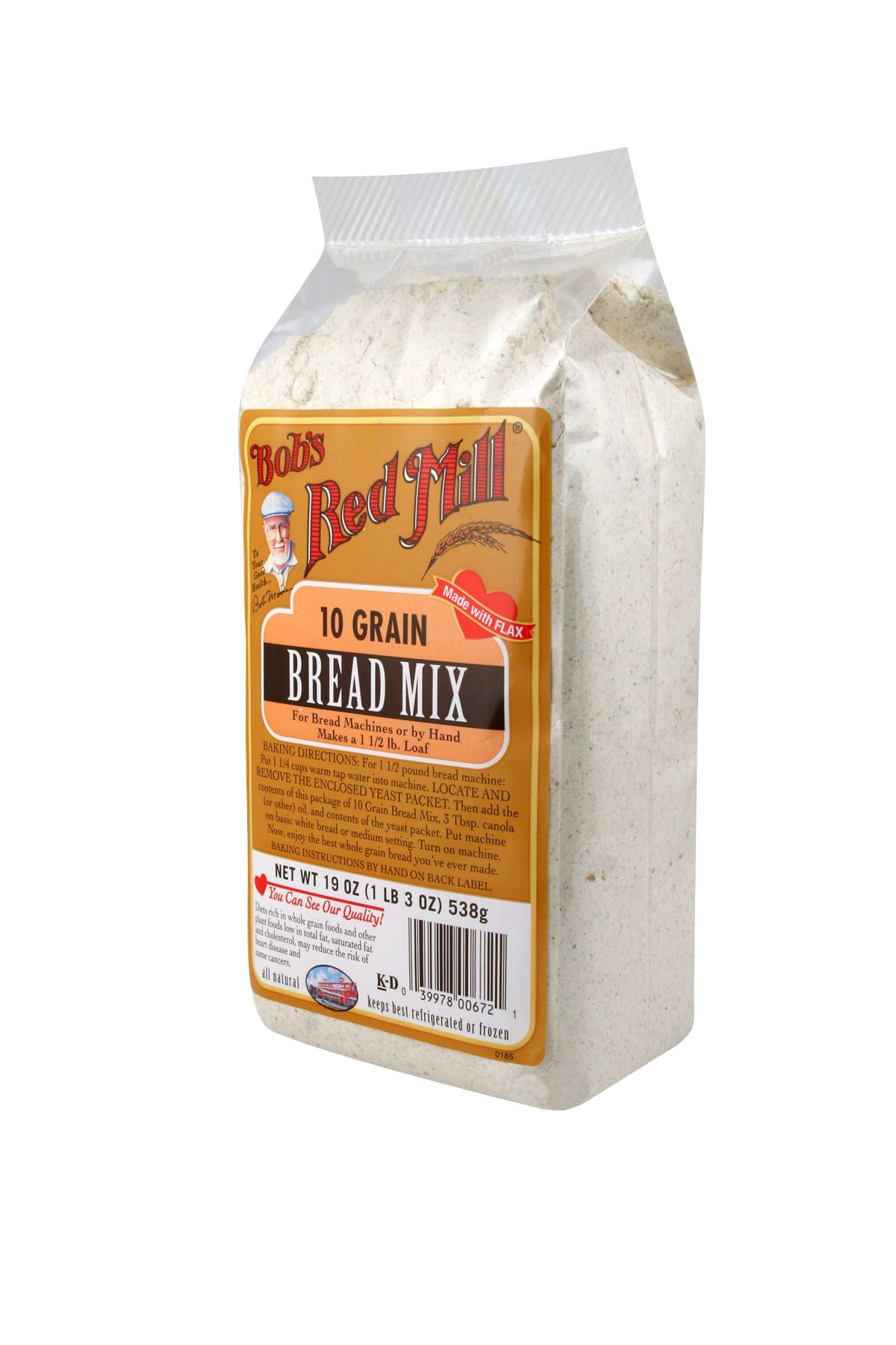 10 grain bread mix, must try. Bread mix, Bobs red mill