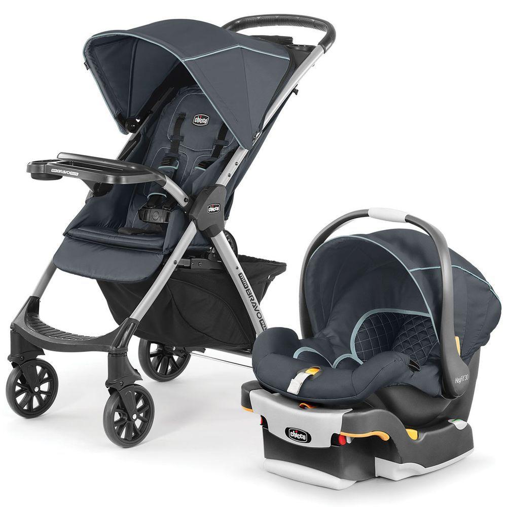Chicco Mini Bravo Plus Travel System Midnight in 2020