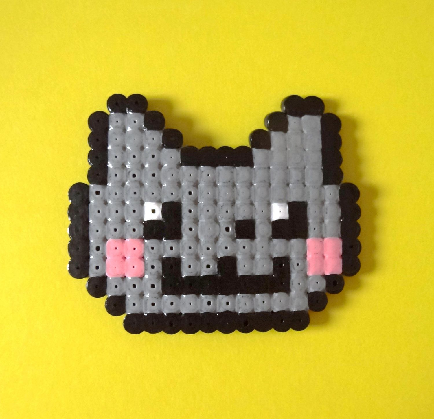 Nyan Cat My Geek Side3 Pinterest Beads Perler Beads And Hama