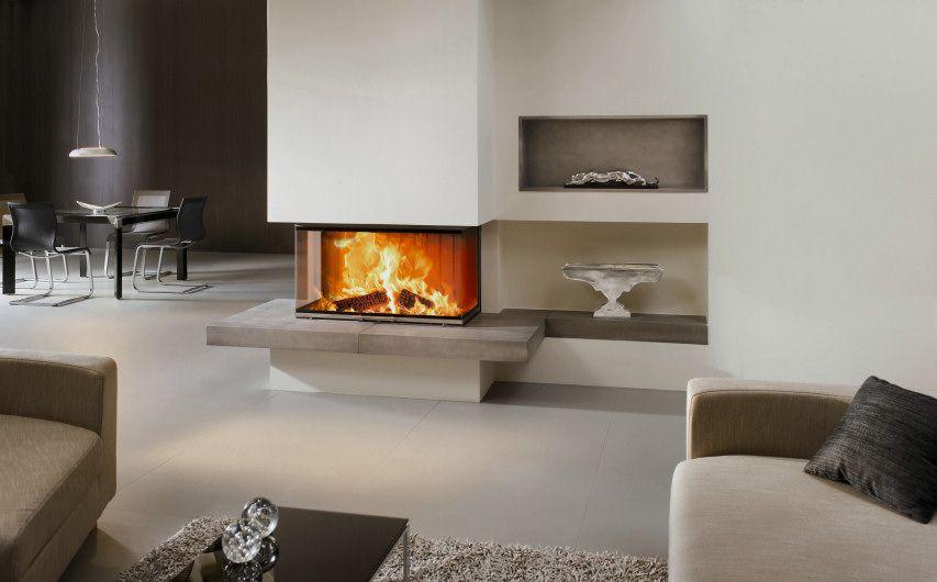 33 kamin mit feuertisch aus keramik und keramischen faechern kamine pinterest kamin. Black Bedroom Furniture Sets. Home Design Ideas