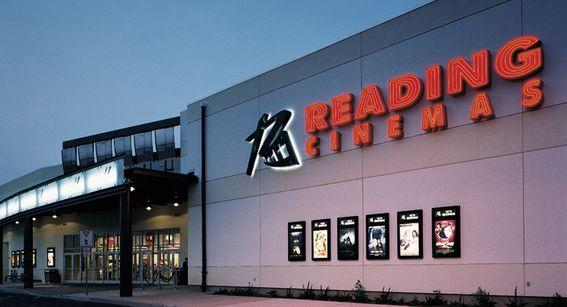 Reading Cinema's logo design by Karen Barranco via Evenson Design #brandingmovietheater