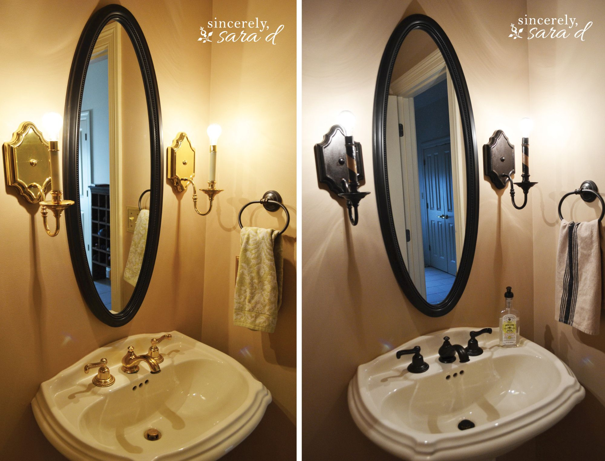 How to Paint a Faucet   Faucet, Brushed nickel and Oil rubbed bronze