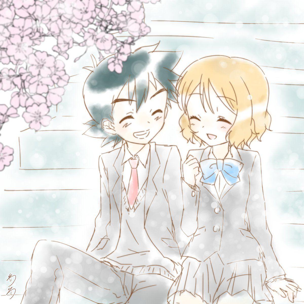N and touko wedding - Amourshipping Satosere