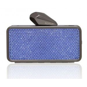 #Getsmartbag Minaudiere for your iphone | Blue - Provence Lavender Swarovski Crystals | Exclusive online edition for www.koturltd.com | #KOTUR #Swarovski