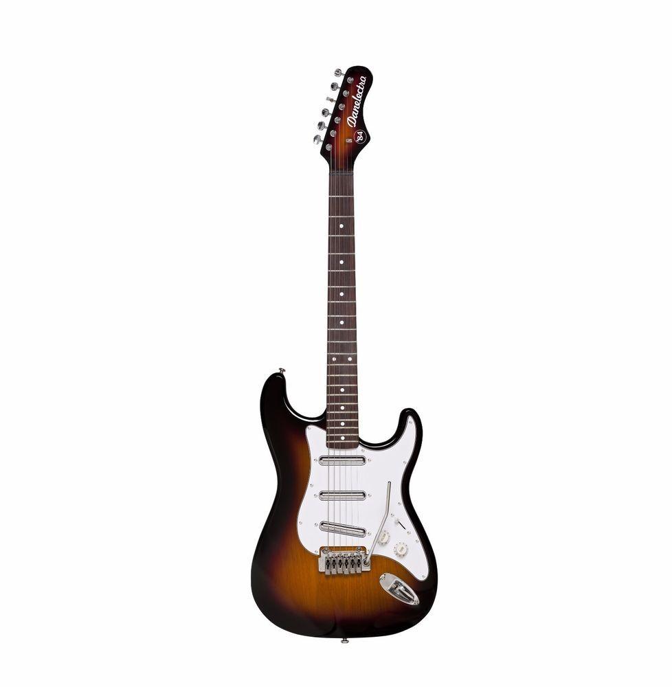 Danelectro 84 strat electric guitar 3 Tone Sunburst lipstick pickups ...