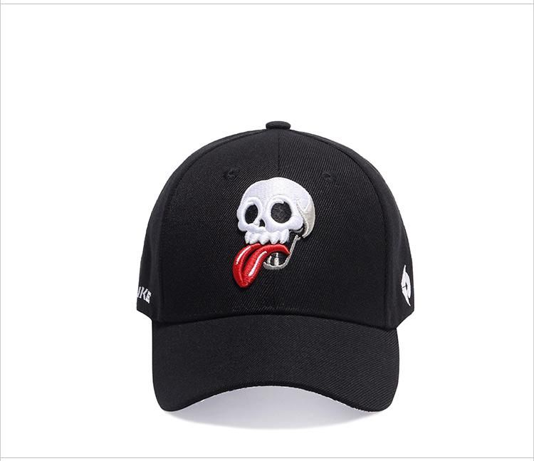LIMITED TIME ONLY  Customized Baseball Cap w  Skull Embroidery ... b991355dd81