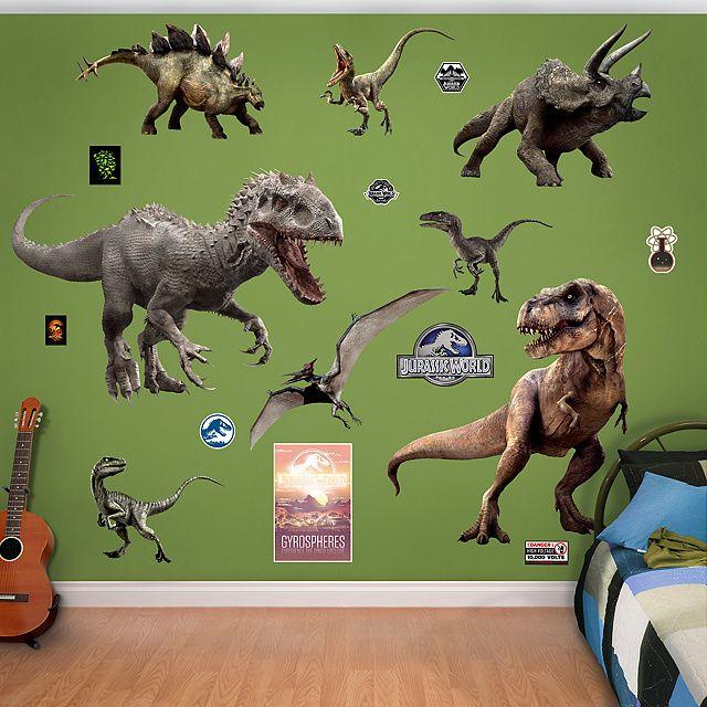 Jurassic World Dinosaurs Collection Dinosaur Bedroom Dinosaur