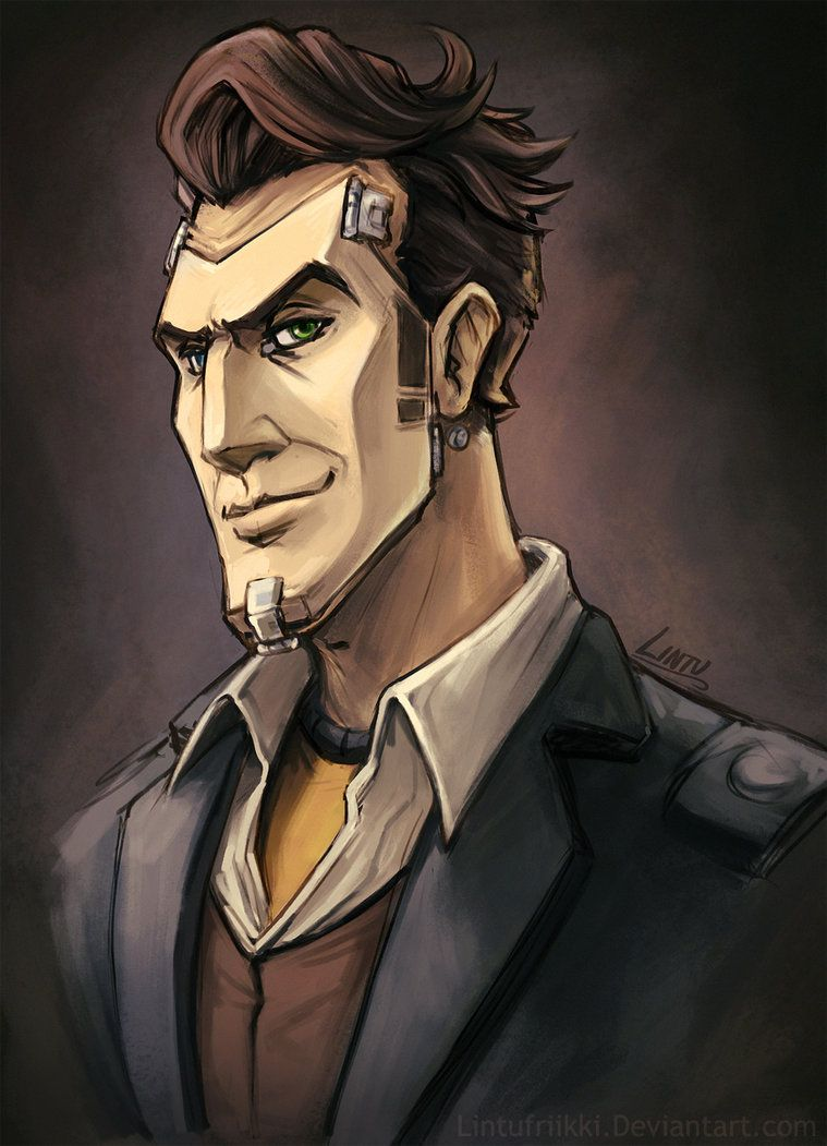 Handsome Jack Fan Art By Lintufriikki On Deviantart