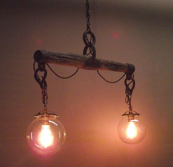 Handmade Horse Yoke Hanging Light By Upwrightconcepts On