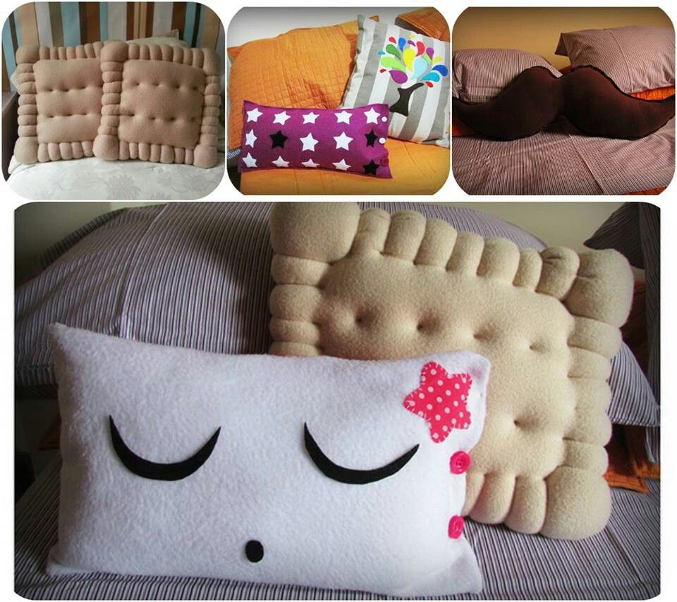 Cojines Originales Manualidades Cojines Decorativos Y Divertidos Decoracion Bed Pillows