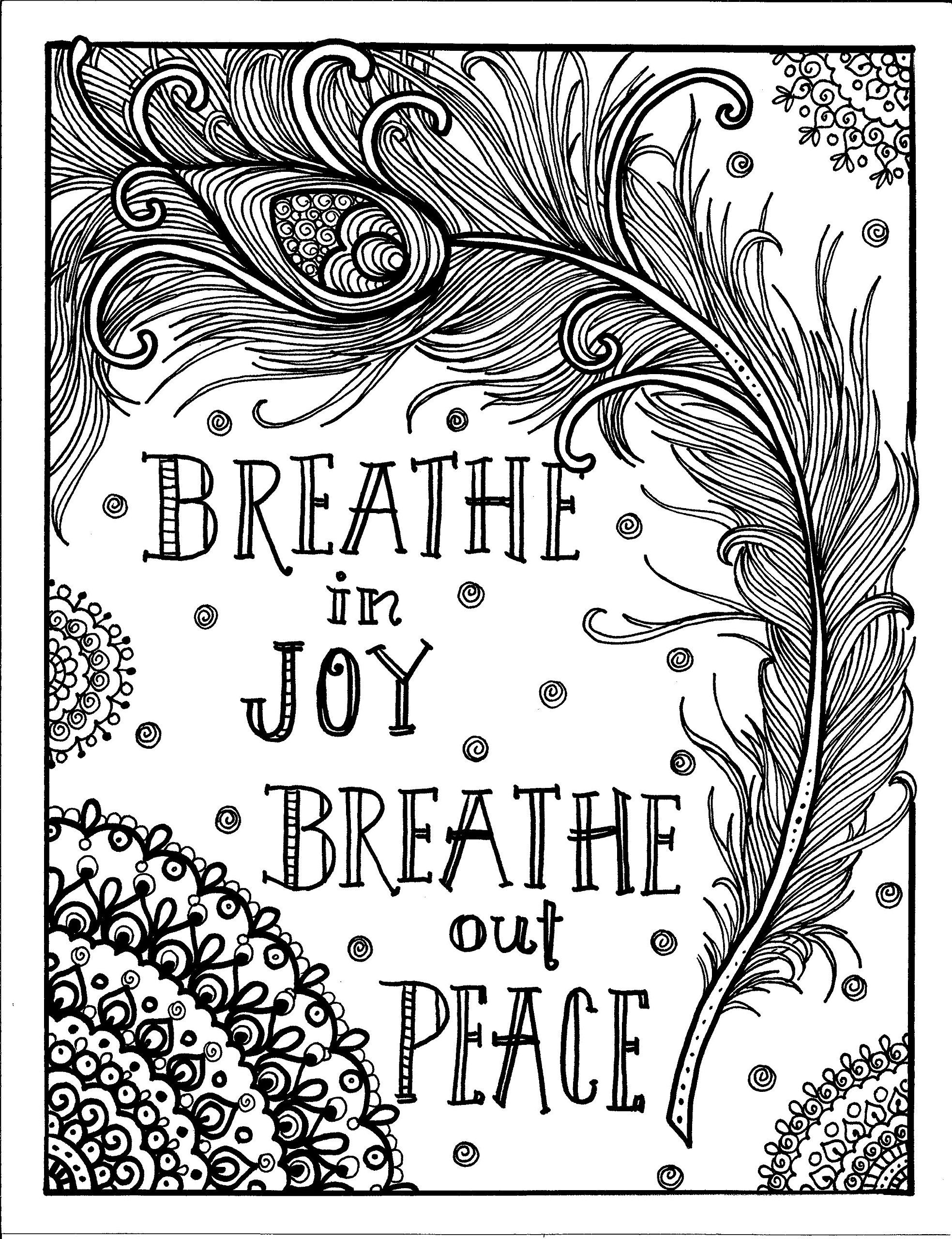 Create and Meditate Relaxation Coloring Book for Aduults: Deborah ...