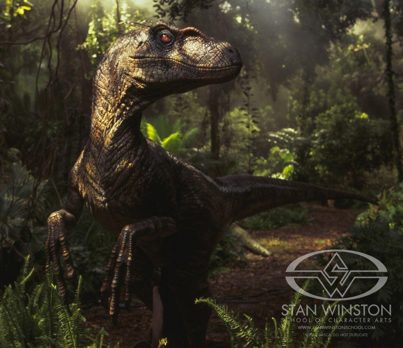 Jurassic Park Scenes Footage Of Puppeteer