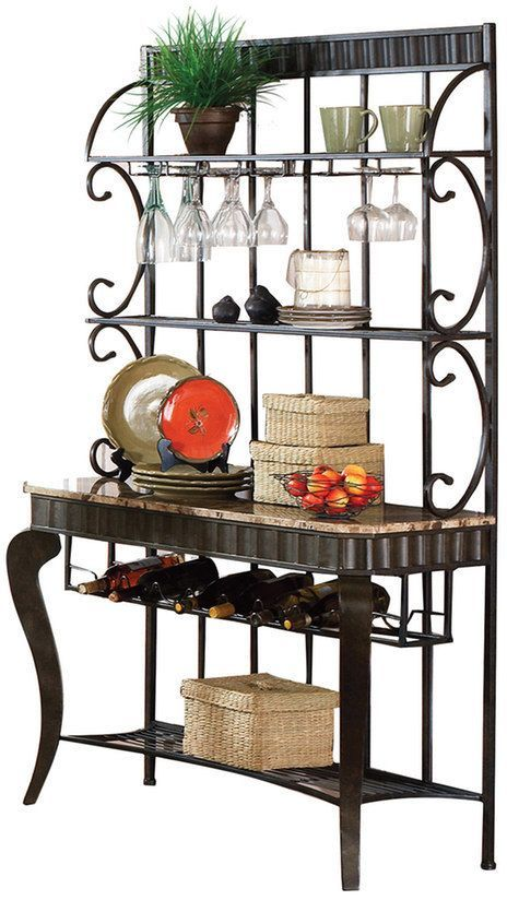 Hamlyn Baker S Rack Bakers Rack Furniture Living Room Bookcase