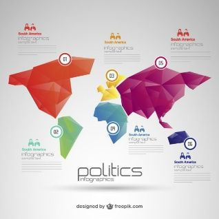 Politics world map free infographic vector of illustrator politics world map free infographic gumiabroncs Image collections