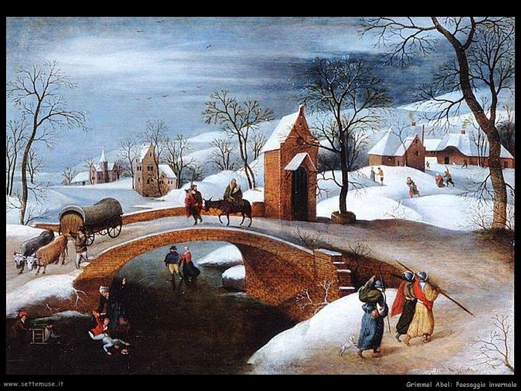 quadri famosi paesaggi invernali - Cerca con Google | Progetti da ...