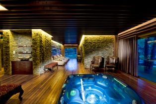 Your own SPA in the Presidential Villa of the Gloria Hotels & Resorts in Belek/Turkish Riviera. Good spot for a winter escape. More: www,gloria.com.tr