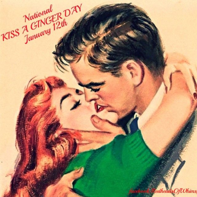 National Kiss a Ginger Day -- cuckoo_chanel787's photo on Instagram | Ginger  day, National redhead day, Redhead facts