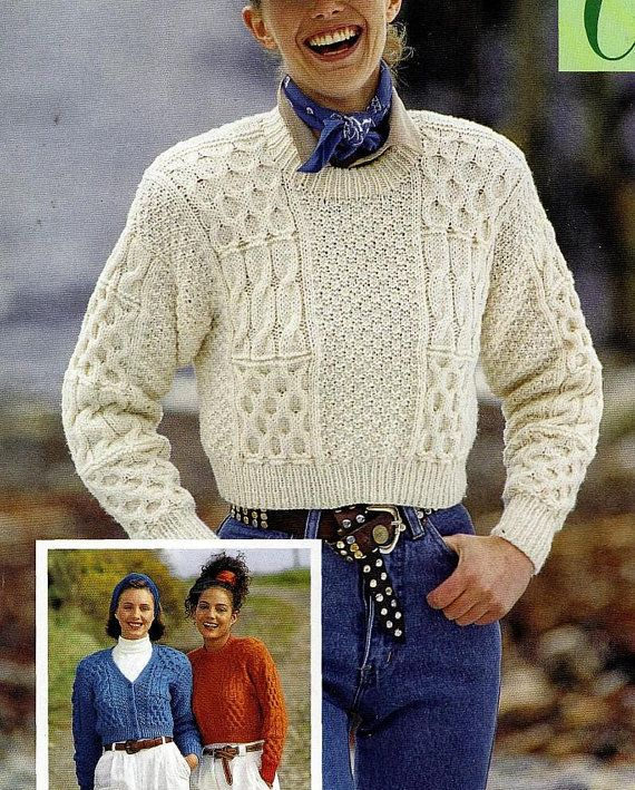 Instant PDF Download Vintage Row by Row Knitting Pattern to make ...