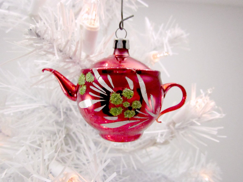 Vintage teapot Christmas ornament | Tea Party | Pinterest ...