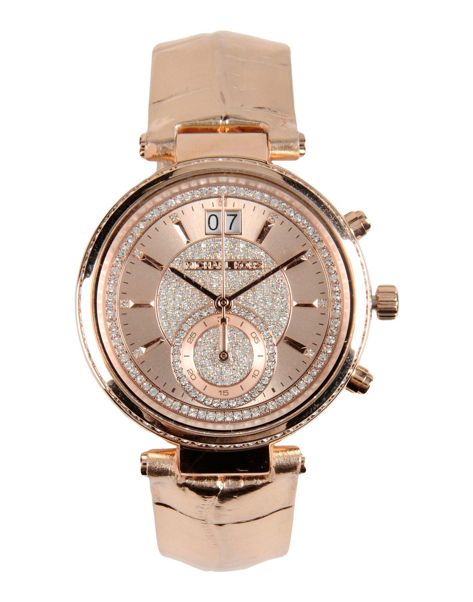 Michael Kors Наручные Часы Для Женщин - Наручные Часы Michael Kors на YOOX - 58027030JC