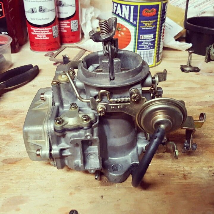 Rebuilt Holley 1920 carburetor  1968 Plymouth Barracuda, 225
