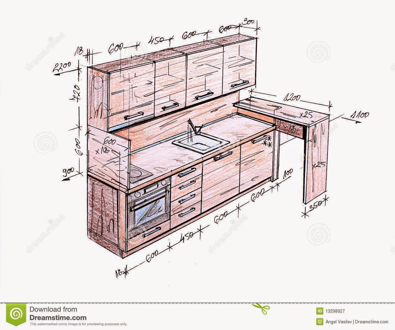 Kitchen Design Drawings Pdf   Publish Kitchen