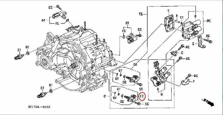 2001 Honda Accord Transmission Diagram - Wiring Diagrams Show