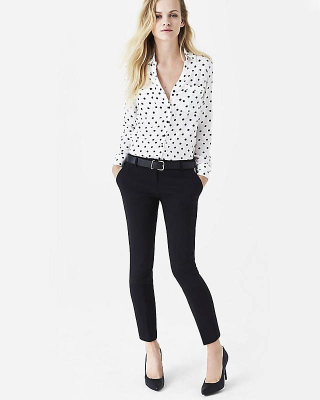 Images of Business Casual Tops For Women - Reikian