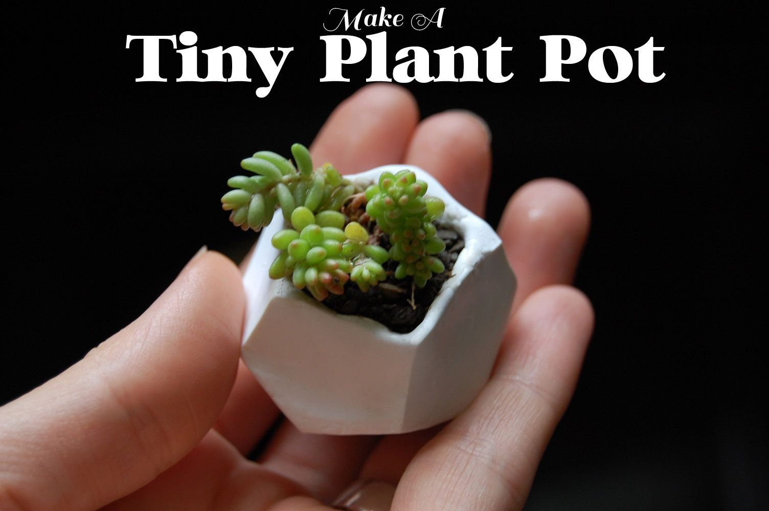 The tutorial is super simple, all you need is polymer clay, an oven ...