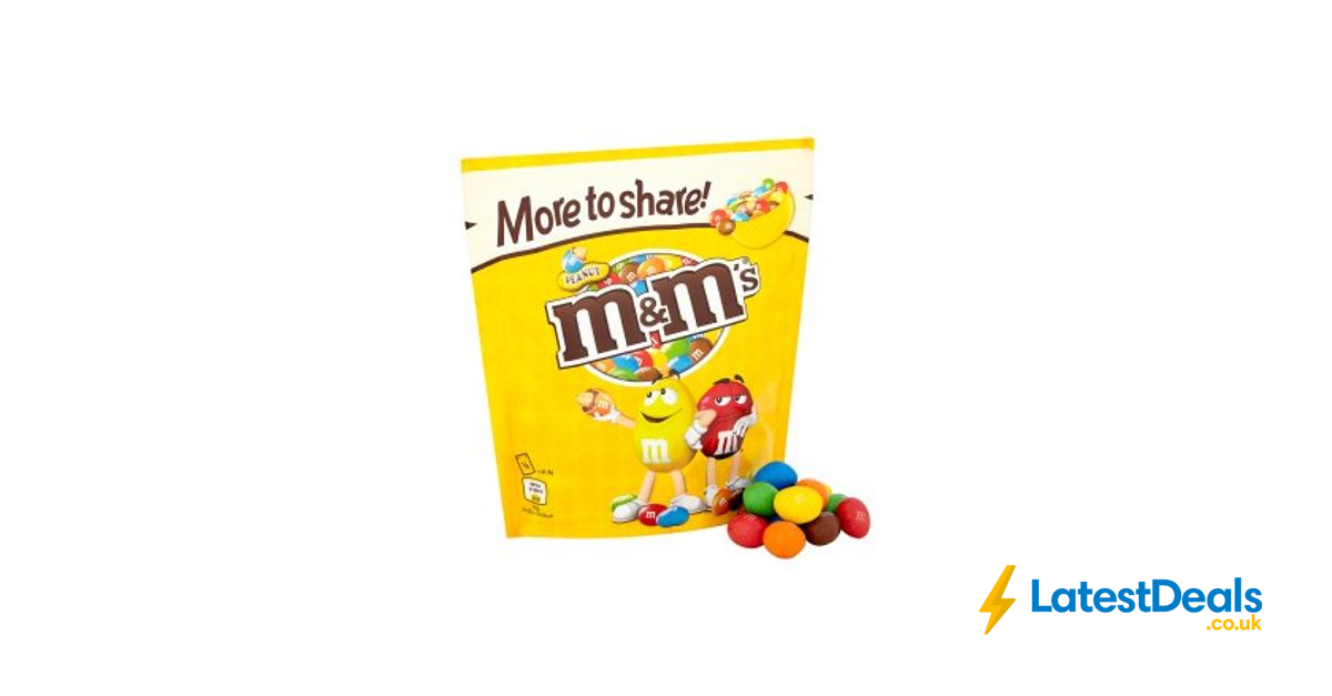 Large Bags Of Mms Peanut Chocolate And Crispy 140 At