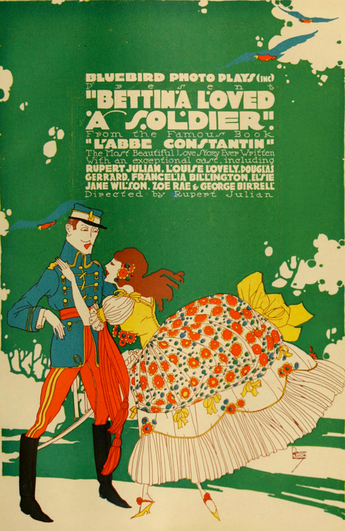 Bettina Loved a Soldier, 1916