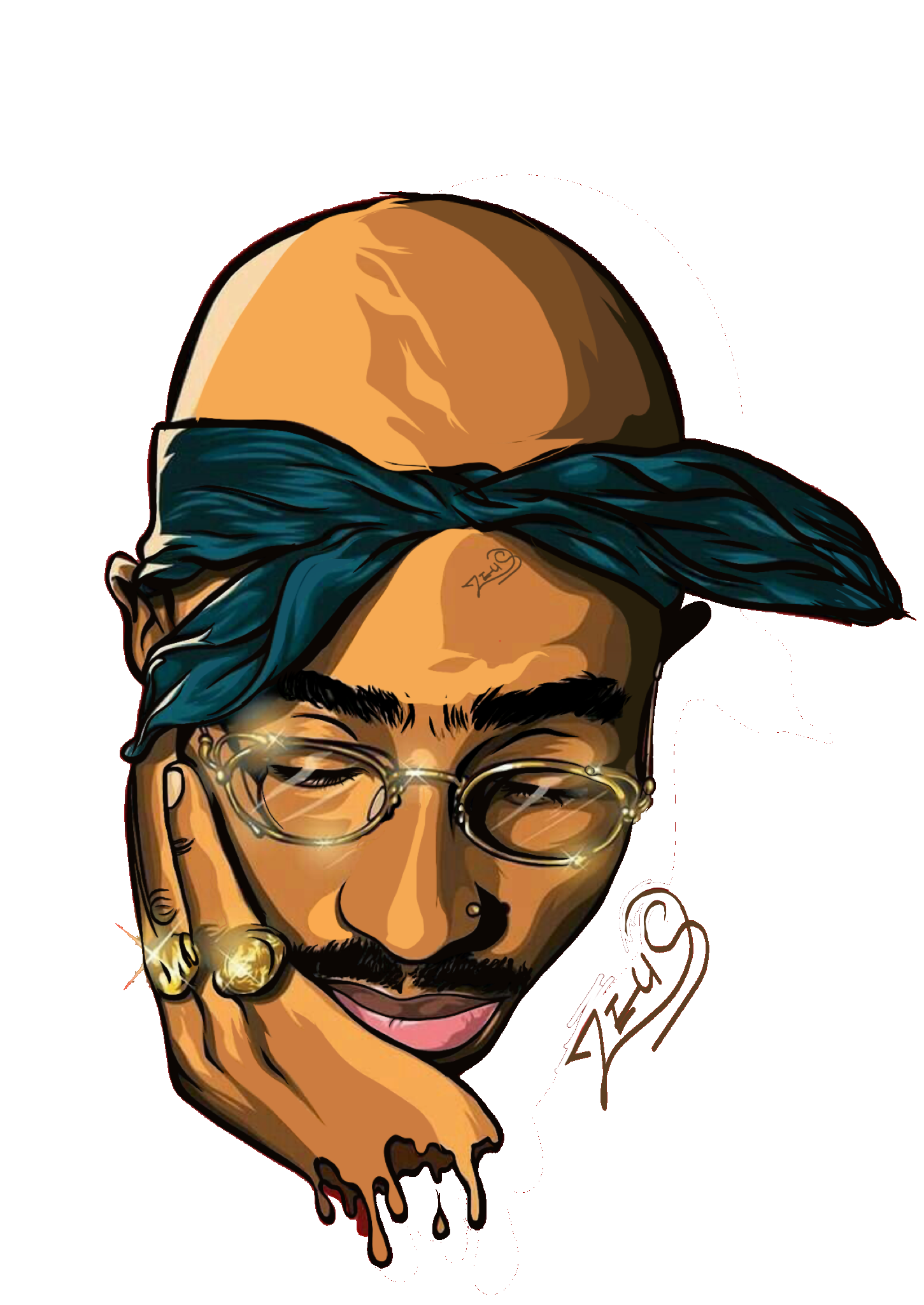 Tupac Amaru Shakur Tupac art, Rapper art, Tupac wallpaper