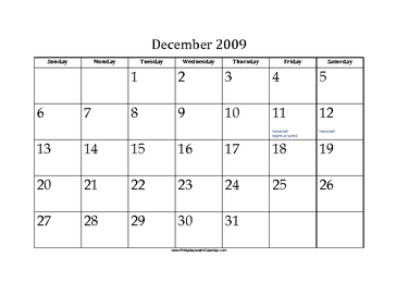 December 2009 Calendar With Jewish Holidays Free To Download And Print June Calendar Printable Printable Calendar July Free Printable Calendar