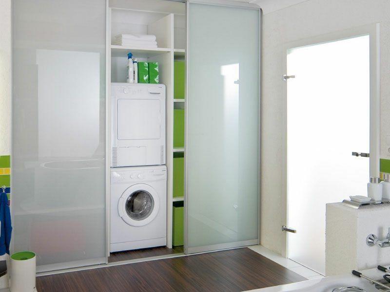Moderner Schrank Eingebaut Badezimmer Trockner Und Waschmaschine In 2020 Trockner Auf Waschmaschine Waschmaschine Waschmaschine Trockner Schrank