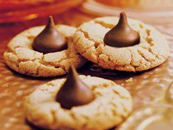 Peanut Butter-Chocolate Candy Cookies...I doubled the recipe and added 1 teaspoon vanilla.