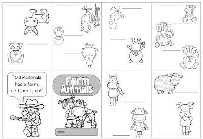 Farm Animals Materialpaket   tiere   Pinterest   Englisch, Schule ...