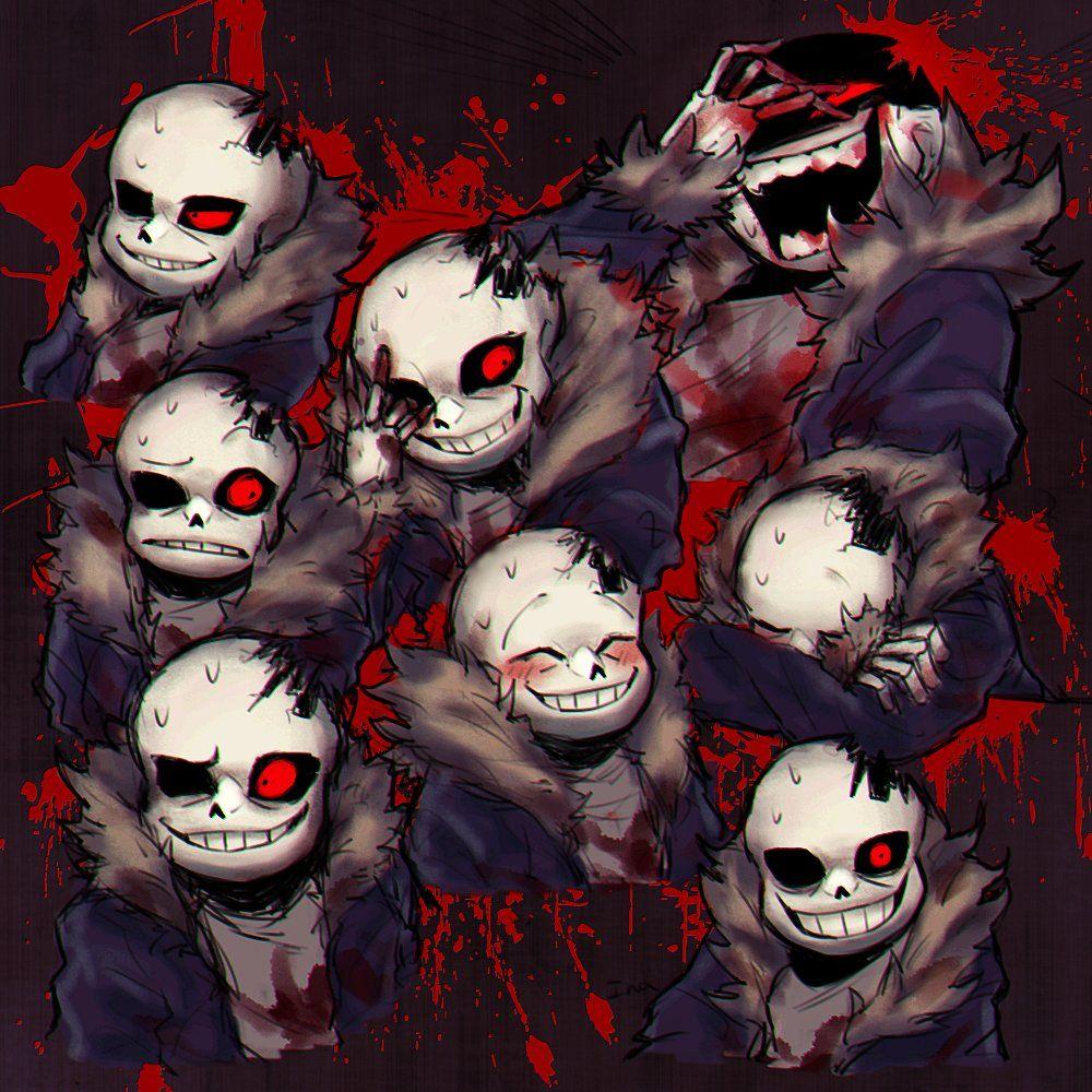 Horrortale Vk Horror Sans Horrortale Undertale Drawings