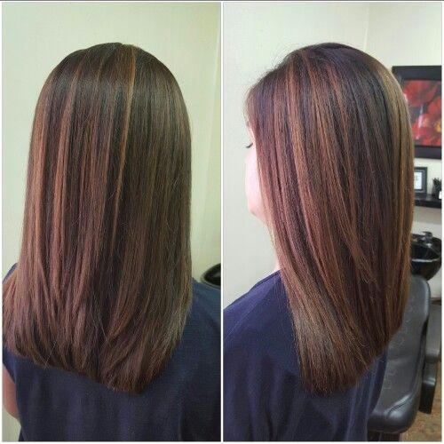Fall Hair Color Rebonded Hair Layered Hair Fall Hair