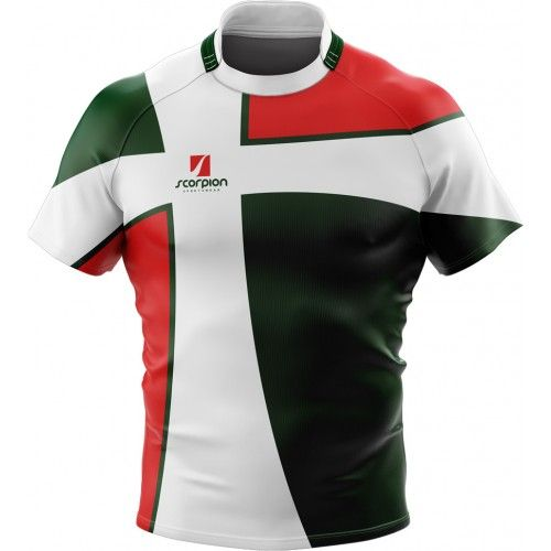 Rugby Shirts Produced In Your Own Design From Rugby Kit Designers Scorpion Sports In The Uk Camisetas De Futebol Camisetas Masculinas Camisetas