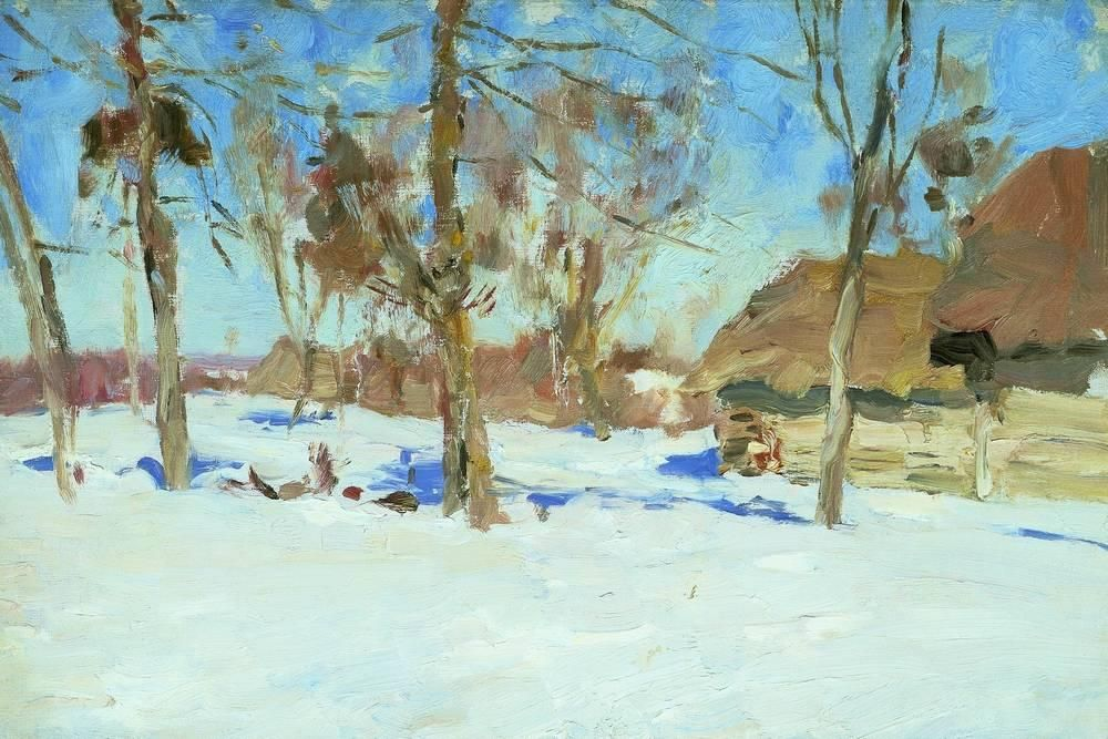Early march - Isaac Levitan