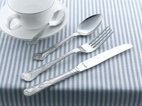 Accesorios para cocina y comedor - Cubertería de acero inoxidable (32 piezas) -  http://tienda.casuarios.com/amefa-monogram-6210bx32-kings-cuberteria-de-acero-inoxidable-32-piezas/