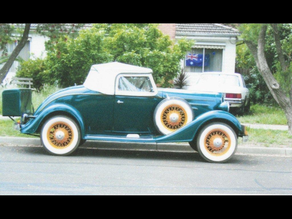 1935 Chevrolet Victoria 2 Door Sedan 409 CI Dual Quads Car