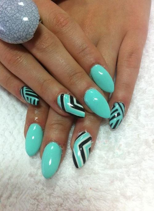Oval Nails Design Tumblr (1) oval nails ...