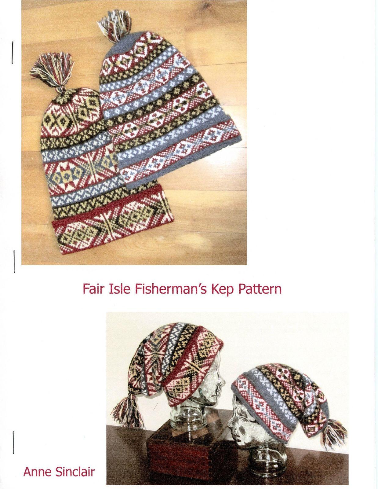 Ravelry: Fisherman\'s Kep pattern by Anne Sinclair | Fair isle ...
