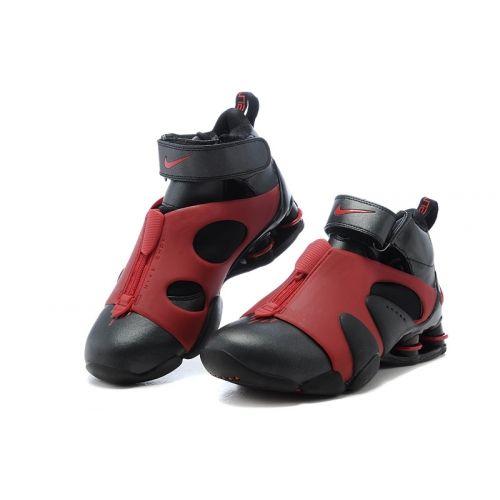 56efe0c0171d3 Nike Shox Vince Carter Basketball Shoes black Sport red